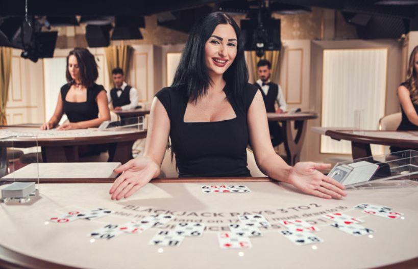 evolution gaming white blackjack