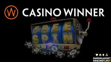 Lunasta ilmaiskierroksia ja ilmaisvetoja Casino Winnerillä