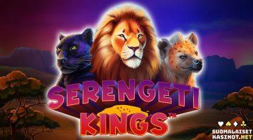 Serengeti Kings – omalaatuinen slotti Leijonakuninkaan hengessä
