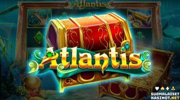 Löydä jättipotti syvyyksistä Atlantis-kolikkopelissä