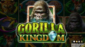 Gorilla Kindom -kolikkopelissä matkataan sademetsän siimekseen