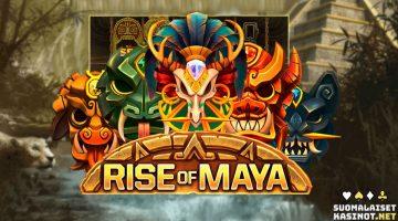 Rise of Maya -kolikkopeli on täynnä kultaa ja kimallusta