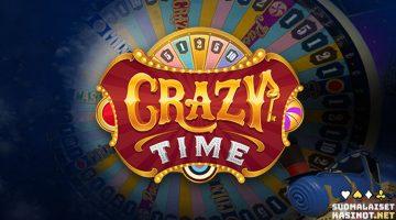 Crazy Time – hullut voittokertoimet ja neljä bonuspeliä livenä