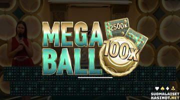 Mega Ball tarjoilee live-bingoa jopa miljoonavoitoilla