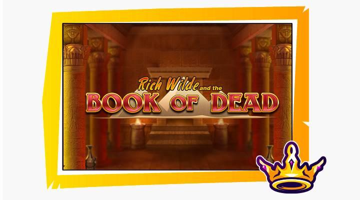 book of dead kolikkopeli