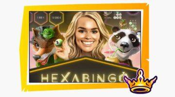 HexaBingo on hauska bingopeli kolmelle jopa tuhatkertaisilla voitoilla