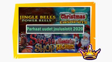 Parhaat uudet jouluslotit 2020 – helkkäile voittoon näissä kolikkopeleissä!